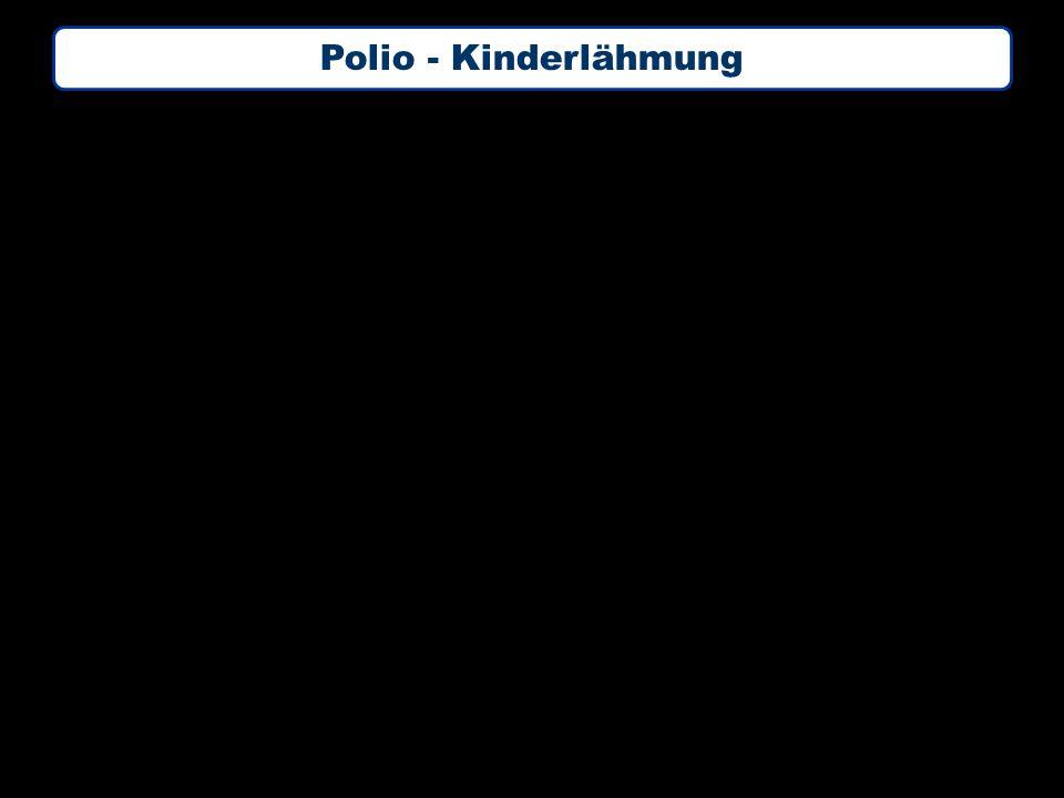 Polio - Kinderlähmung