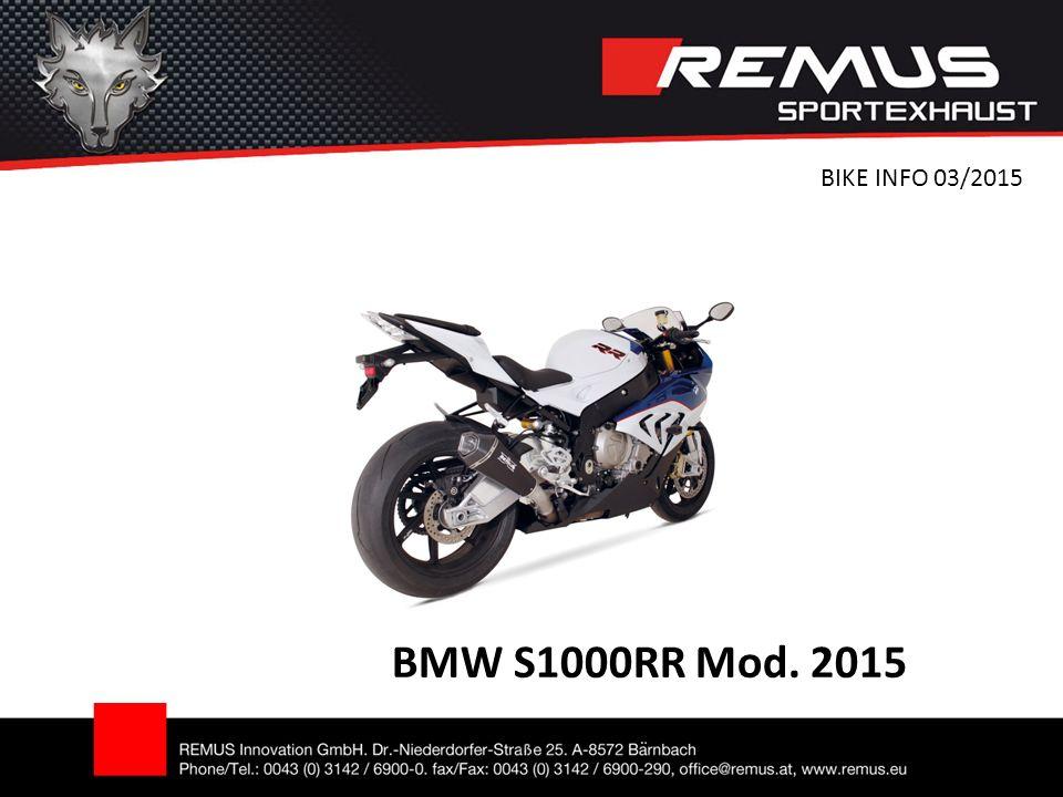 BMW S1000RR Mod. 2015 BIKE INFO 03/2015