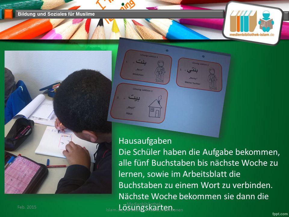 Hausaufgaben Die Schüler haben die Aufgabe bekommen, alle fünf Buchstaben bis nächste Woche zu lernen, sowie im Arbeitsblatt die Buchstaben zu einem Wort zu verbinden.