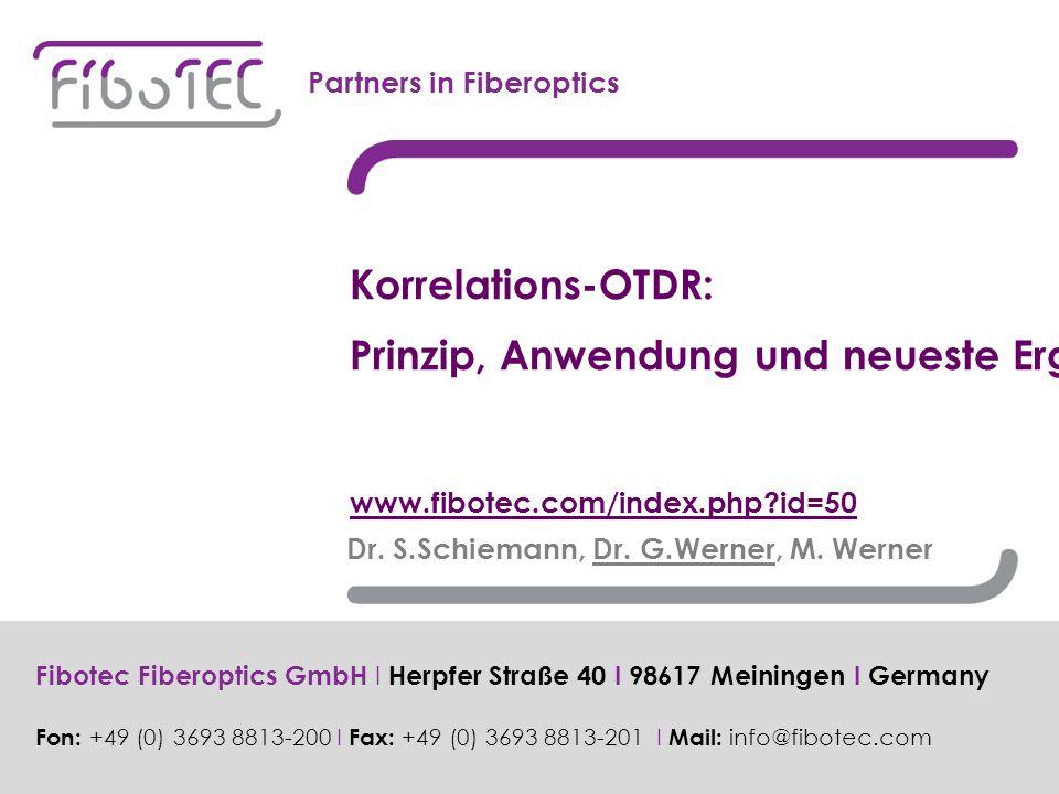 Dr. S.Schiemann, Dr. G.Werner, M.
