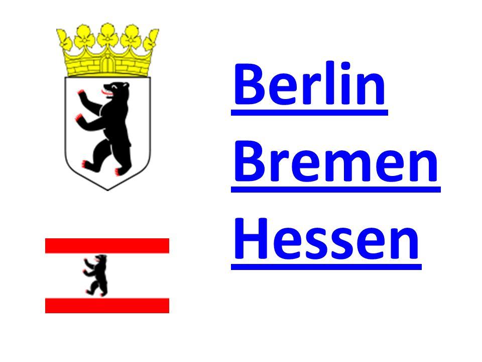 «Угадай-ка» Федеративные земли Германии