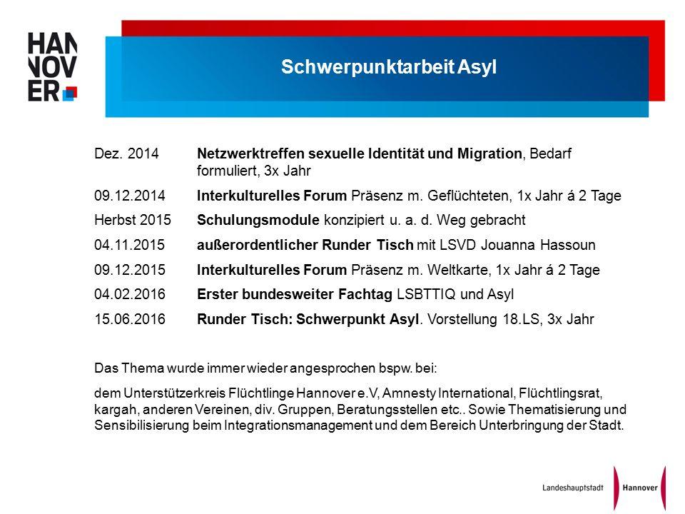 Schwerpunktarbeit Asyl Dez.