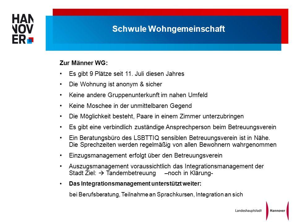 Schwule Wohngemeinschaft Zur Männer WG: Es gibt 9 Plätze seit 11.