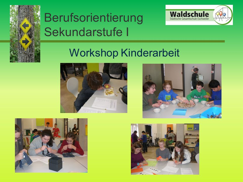 Berufsorientierung Sekundarstufe I Workshop Kinderarbeit
