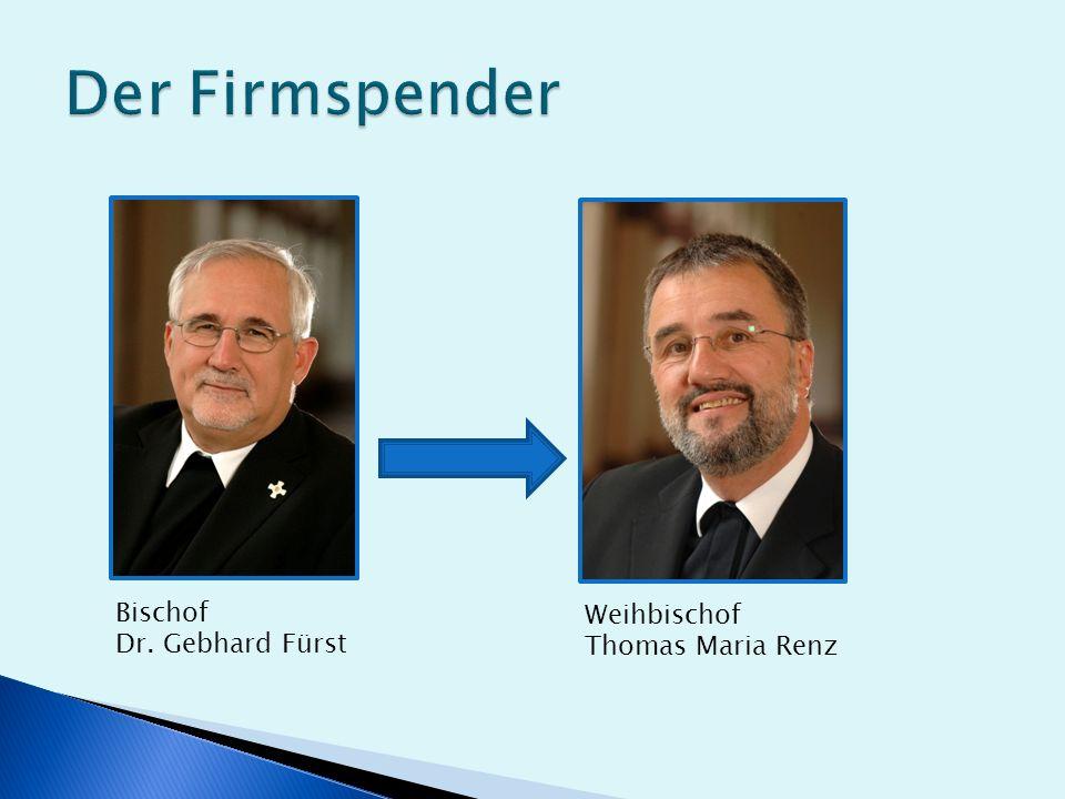 Bischof Dr. Gebhard Fürst Weihbischof Thomas Maria Renz