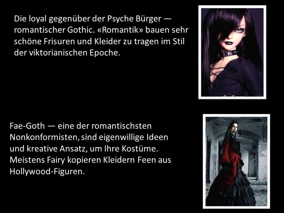 Die loyal gegenüber der Psyche Bürger — romantischer Gothic.