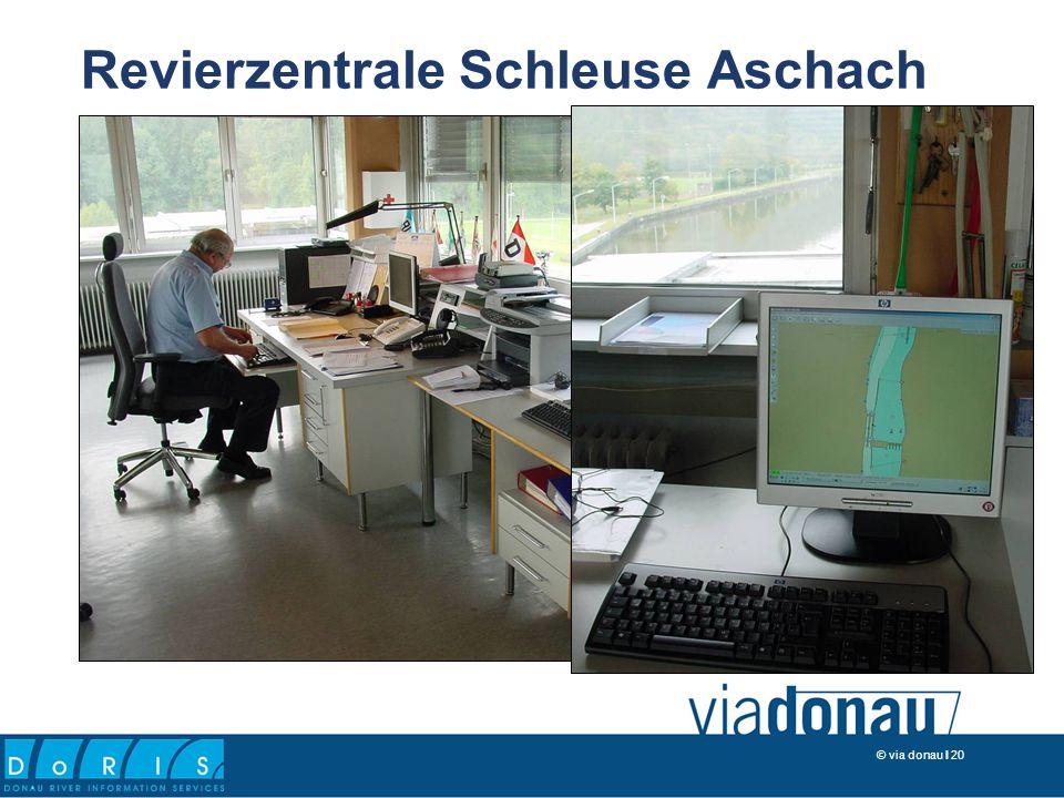 © via donau I 20 Revierzentrale Schleuse Aschach