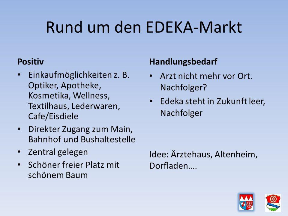 Rund um den EDEKA-Markt Positiv Einkaufmöglichkeiten z.