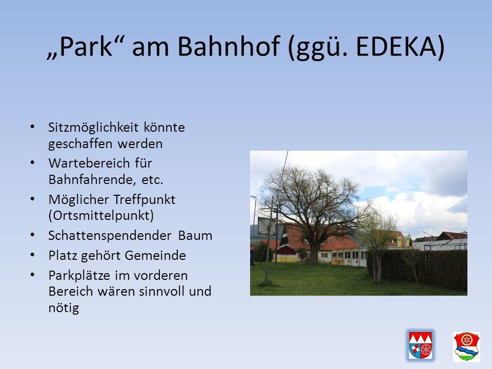 """""""Park am Bahnhof (ggü."""