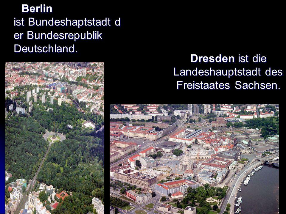 Berlin ist Bundeshaptstadt d er Bundesrepublik Deutschland.