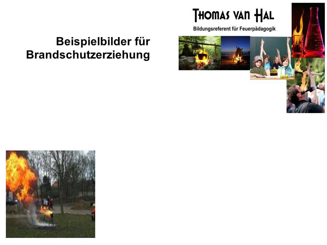 Beispielbilder für Brandschutzerziehung