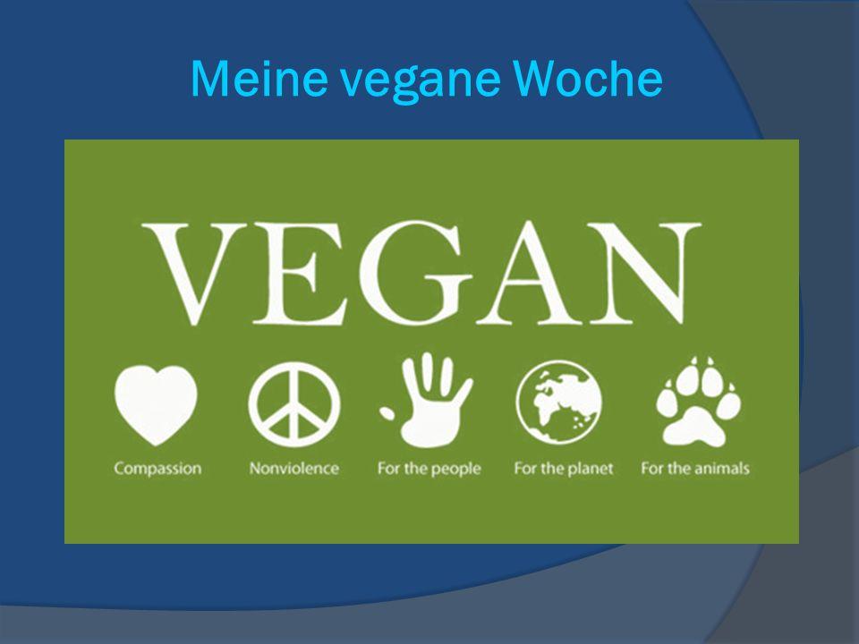 Meine vegane Woche