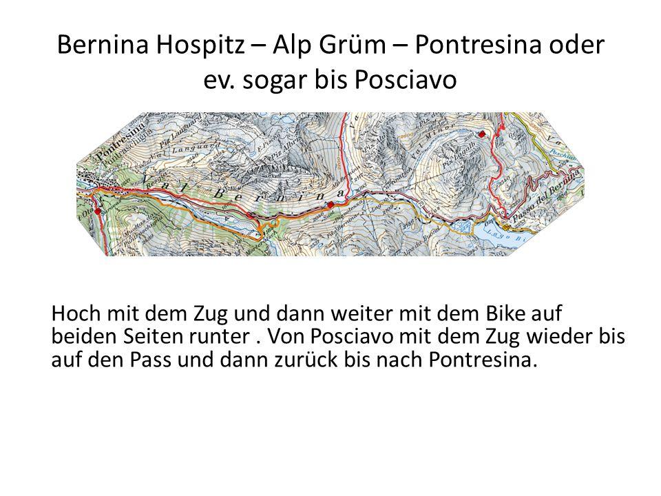 Bernina Hospitz – Alp Grüm – Pontresina oder ev.