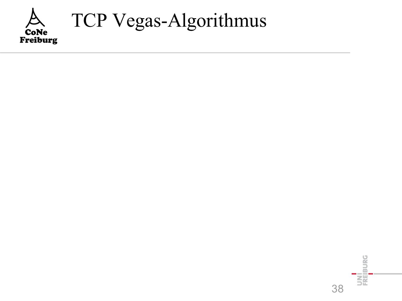 TCP Vegas-Algorithmus 38