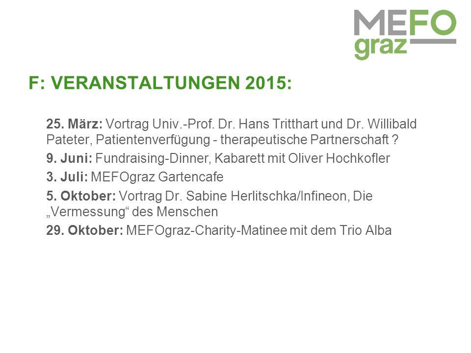 F: VERANSTALTUNGEN 2015: 25. März: Vortrag Univ.-Prof.