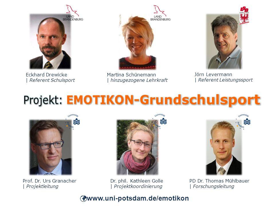 Prof. Dr. Urs Granacher | Projektleitung PD Dr. Thomas Mühlbauer | Forschungsleitung Dr.