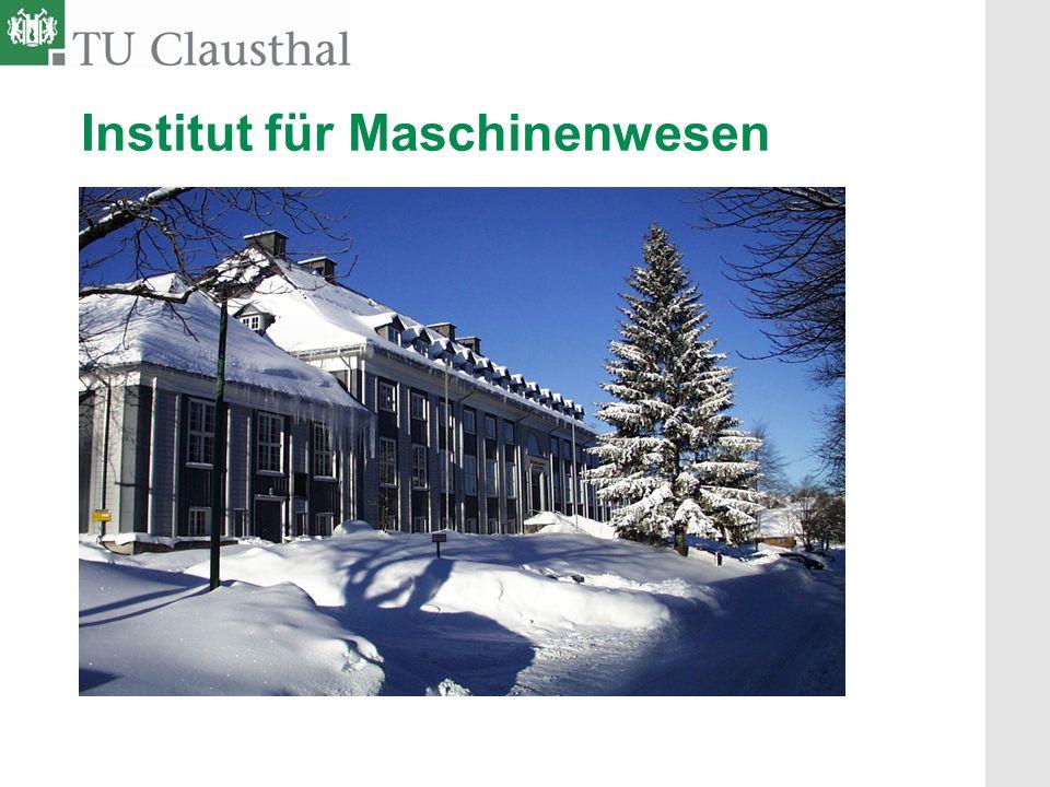 Institut für Maschinenwesen