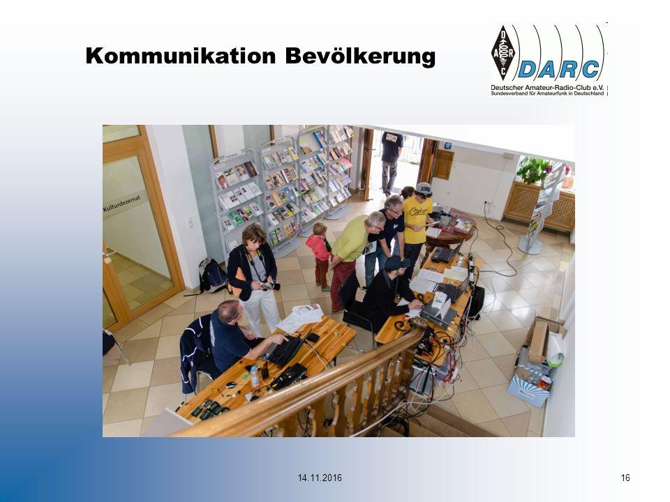 14.11.201616 Kommunikation Bevölkerung