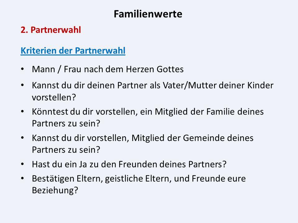 Familienwerte 2.