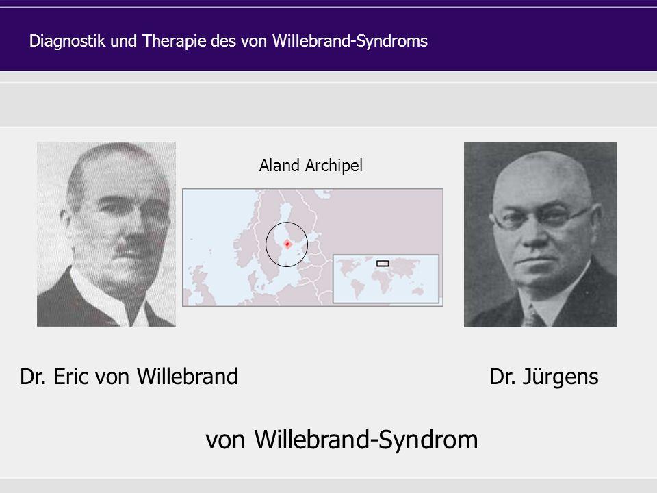 Dr. Eric von WillebrandDr.