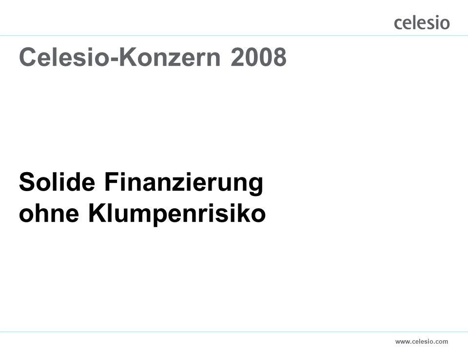 www.celesio.com Celesio-Konzern 2008 Solide Finanzierung ohne Klumpenrisiko