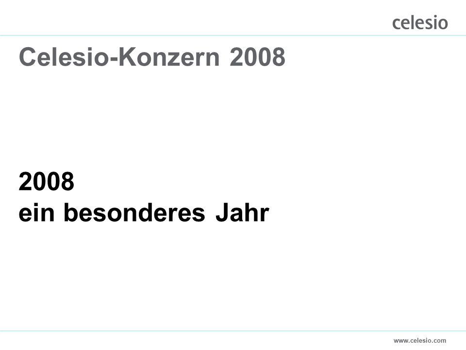 www.celesio.com Celesio-Konzern 2008 2008 ein besonderes Jahr