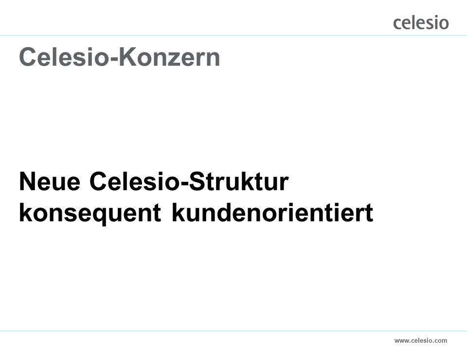 www.celesio.com Celesio-Konzern Neue Celesio-Struktur konsequent kundenorientiert