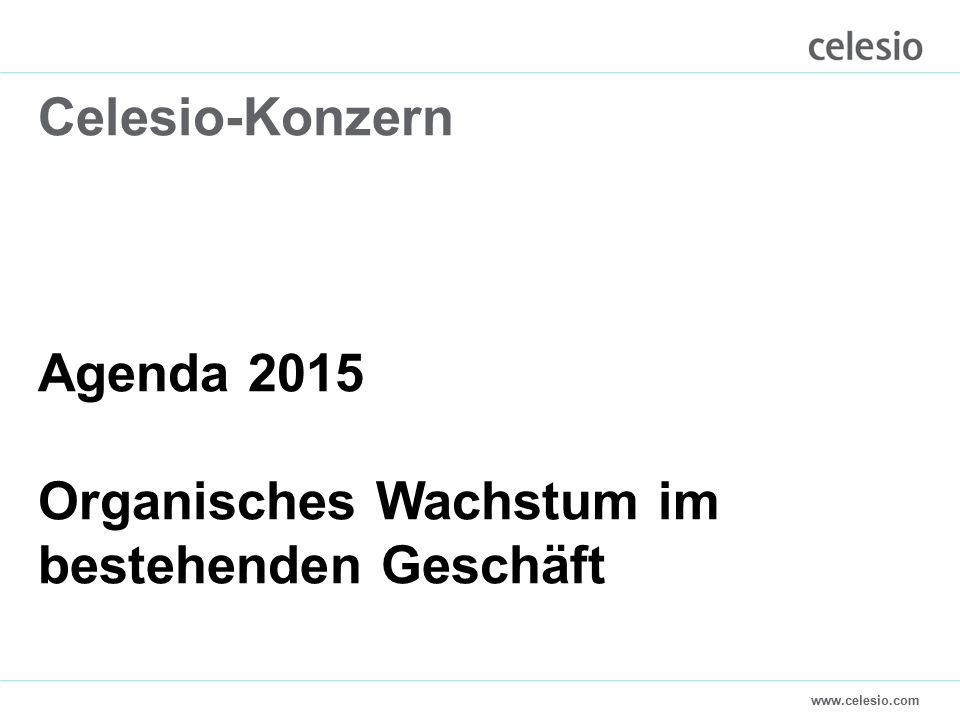 www.celesio.com Celesio-Konzern Agenda 2015 Organisches Wachstum im bestehenden Geschäft