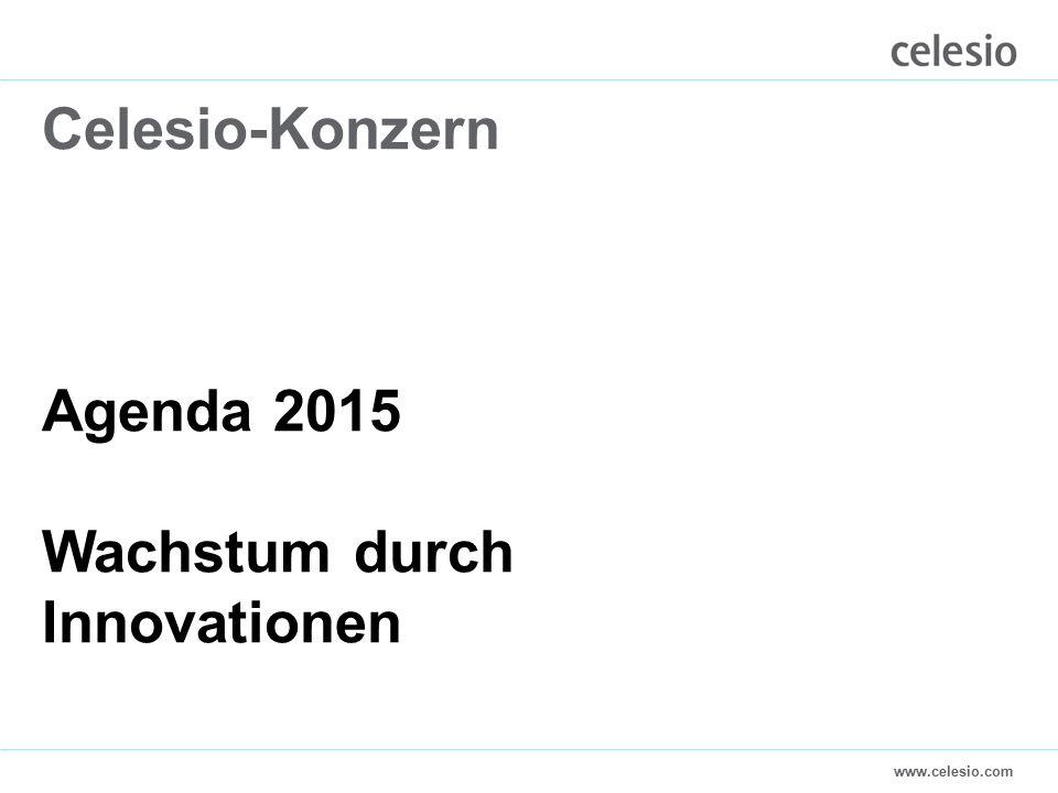 www.celesio.com Celesio-Konzern Agenda 2015 Wachstum durch Innovationen