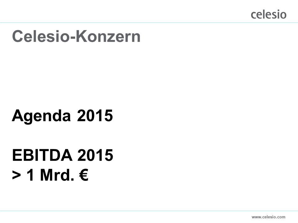 www.celesio.com Celesio-Konzern Agenda 2015 EBITDA 2015 > 1 Mrd. €
