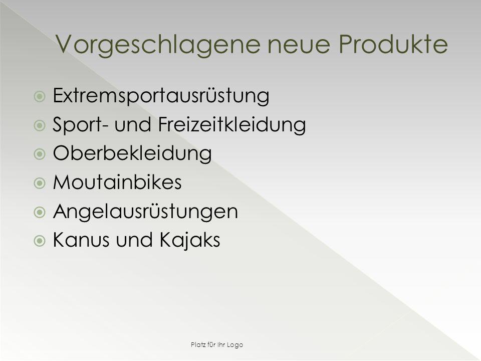  Extremsportausrüstung  Sport- und Freizeitkleidung  Oberbekleidung  Moutainbikes  Angelausrüstungen  Kanus und Kajaks Vorgeschlagene neue Produkte Platz für Ihr Logo