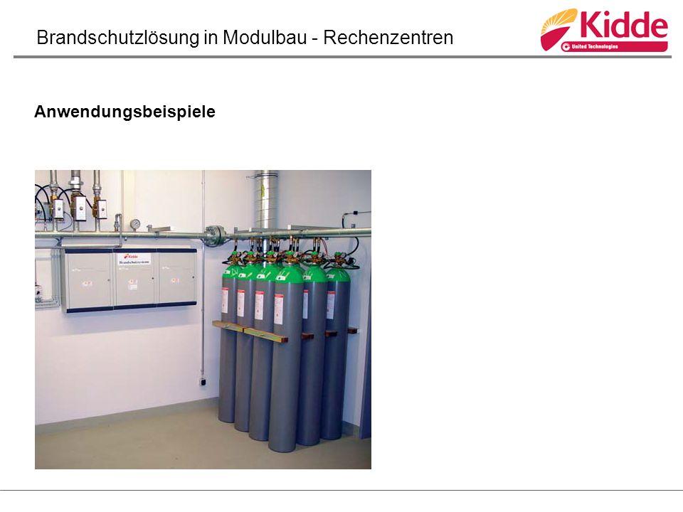 Anwendungsbeispiele Brandschutzlösung in Modulbau - Rechenzentren