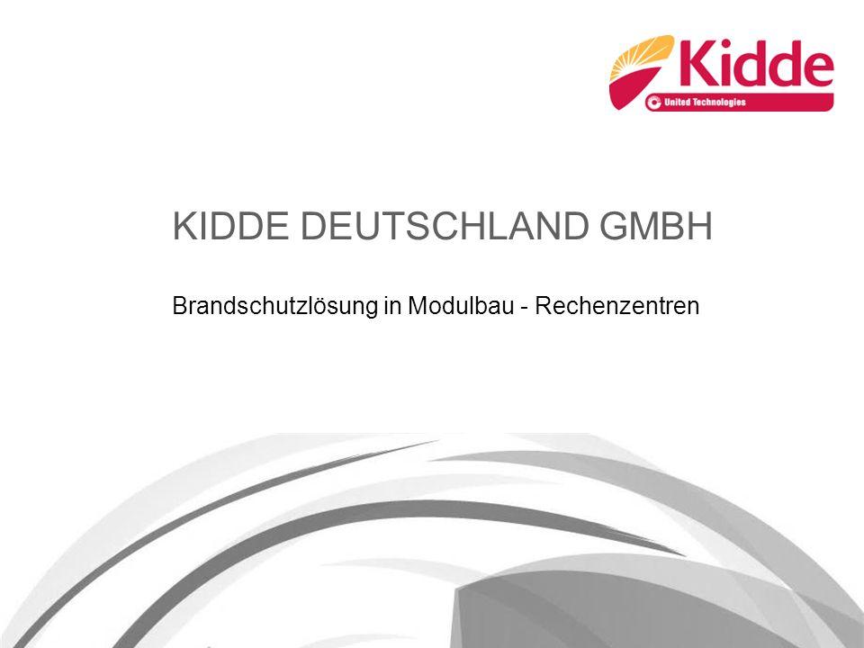 KIDDE DEUTSCHLAND GMBH Brandschutzlösung in Modulbau - Rechenzentren