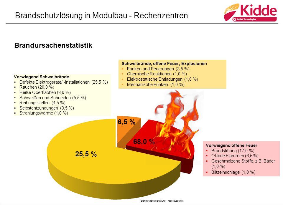 Vorwiegend Schwelbrände  Defekte Elektrogeräte/ -installationen (25,5 %)  Rauchen (20,0 %)  Heiße Oberflächen (8,0 %)  Schweißen und Schneiden (5,5 %)  Reibungsstellen (4,5 %)  Selbstentzündungen (3,5 %)  Strahlungswärme (1,0 %) Vorwiegend offene Feuer  Brandstiftung (17,0 %)  Offene Flammen (6,5 %)  Geschmolzene Stoffe, z.B.