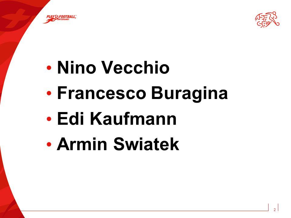 Nino Vecchio Francesco Buragina Edi Kaufmann Armin Swiatek 2