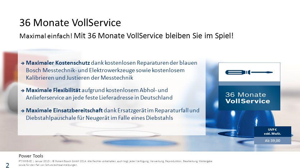 PT/MKB-EC | Januar 2015 | © Robert Bosch GmbH 2014.