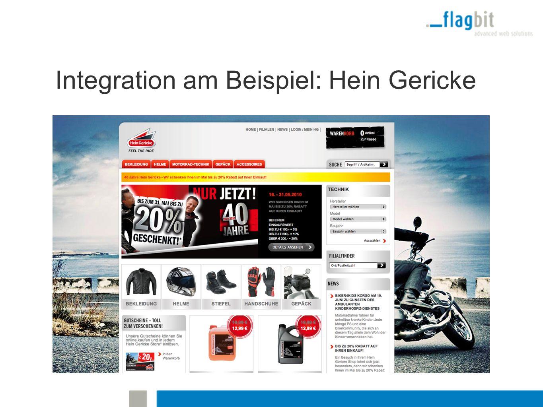 Integration am Beispiel: Hein Gericke
