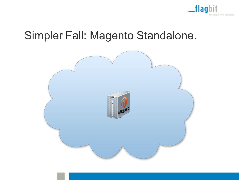 Simpler Fall: Magento Standalone.
