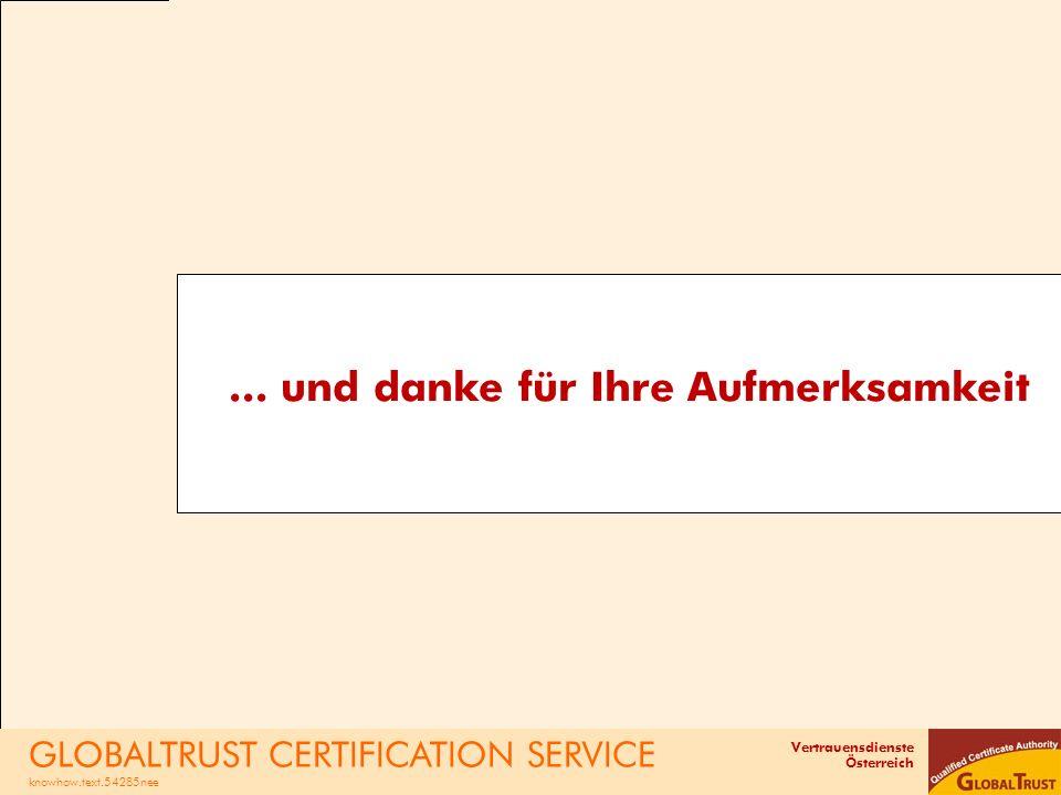Vertrauensdienste Österreich...