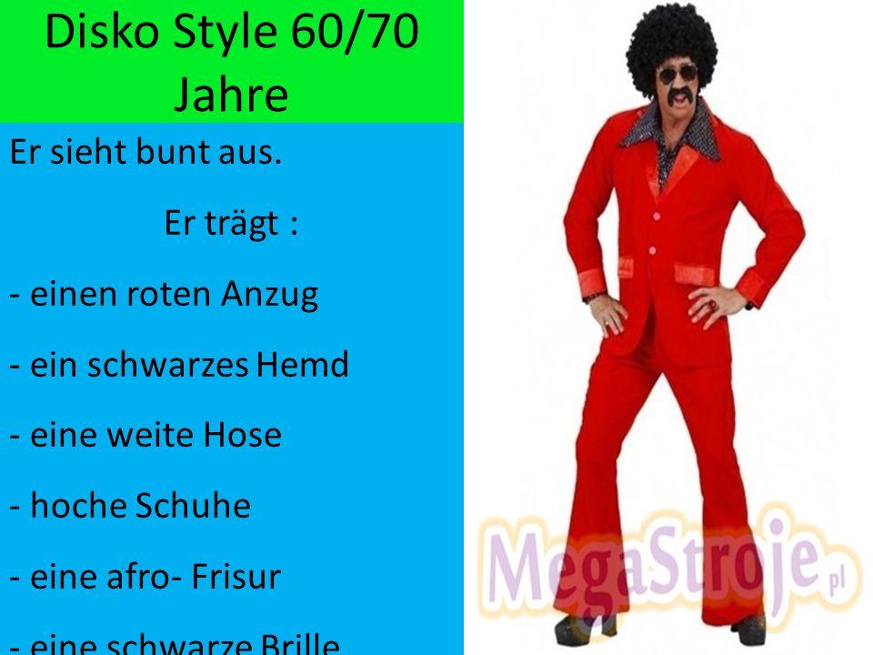 14.11.2016 Disko Style 60/70 Jahre Er sieht bunt aus.