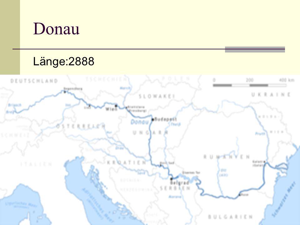 Donau Länge:2888