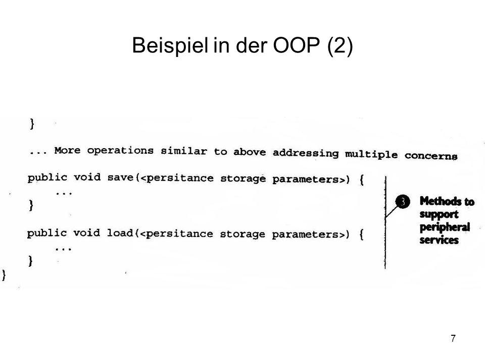 7 Beispiel in der OOP (2)