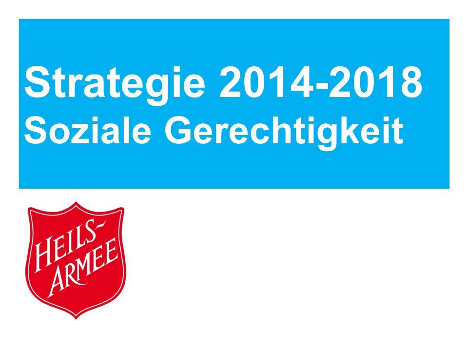 Strategie 2014-2018 Soziale Gerechtigkeit