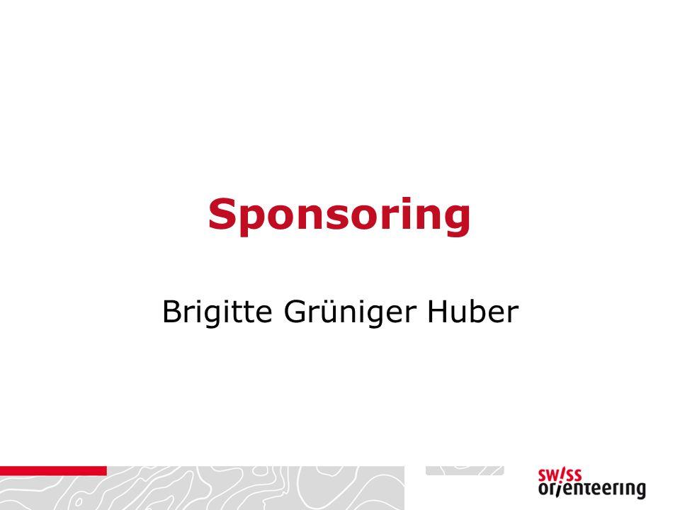 Sponsoring Brigitte Grüniger Huber