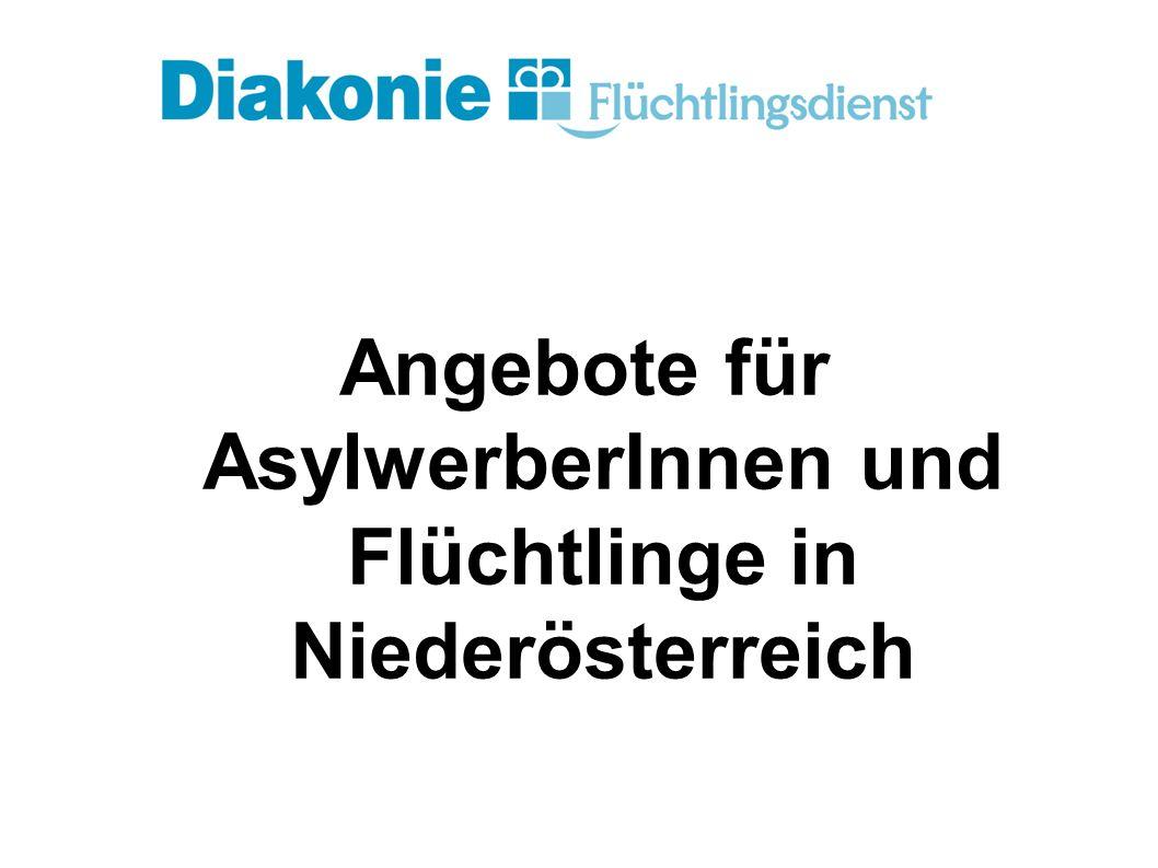 Angebote für AsylwerberInnen und Flüchtlinge in Niederösterreich