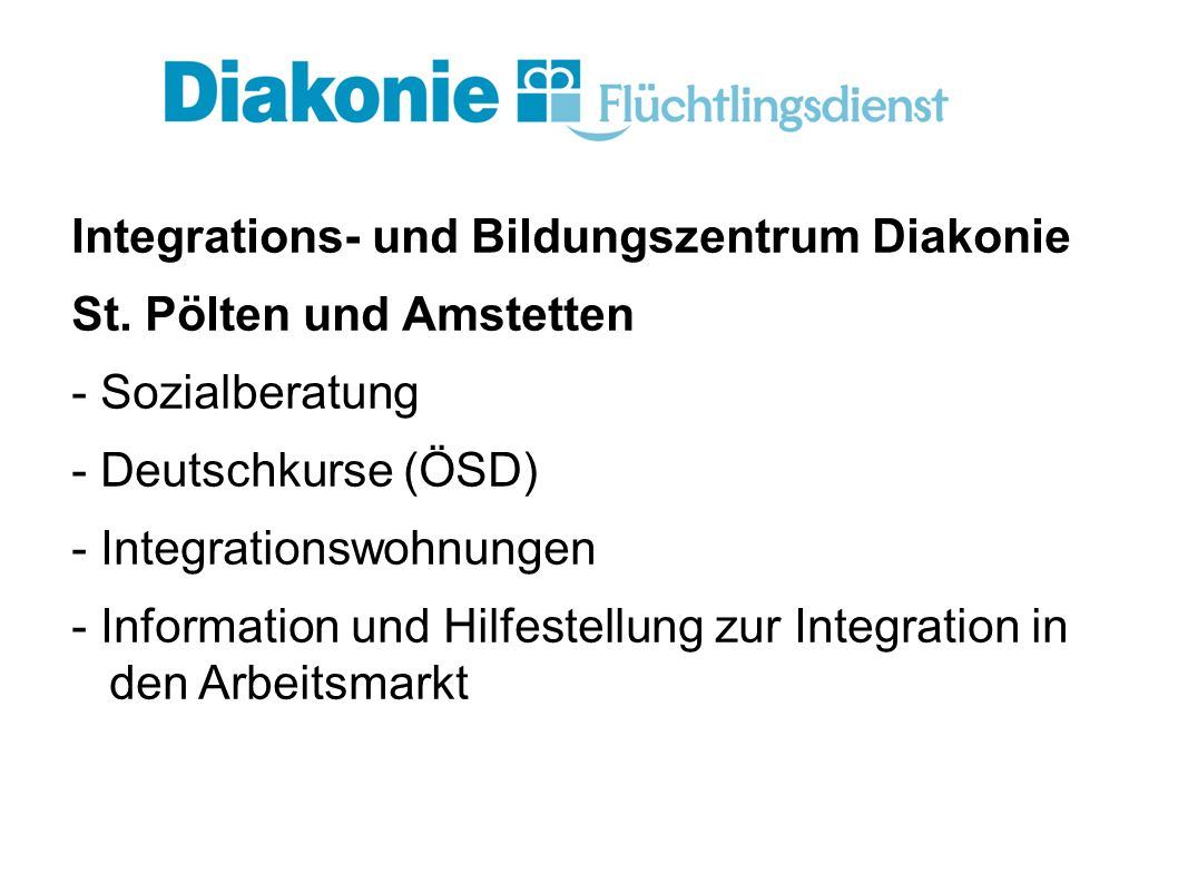 Integrations- und Bildungszentrum Diakonie St.