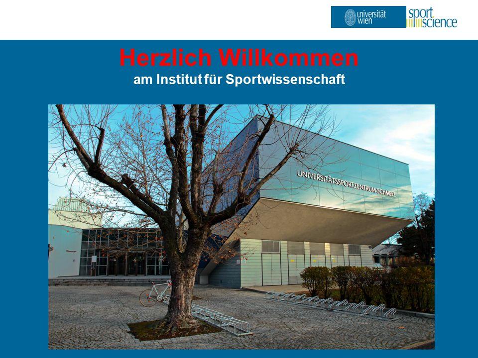 ISW – Institut für Sportwissenschaft Herzlich Willkommen am Institut für Sportwissenschaft