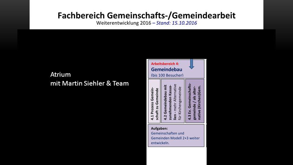 Atrium mit Martin Siehler & Team