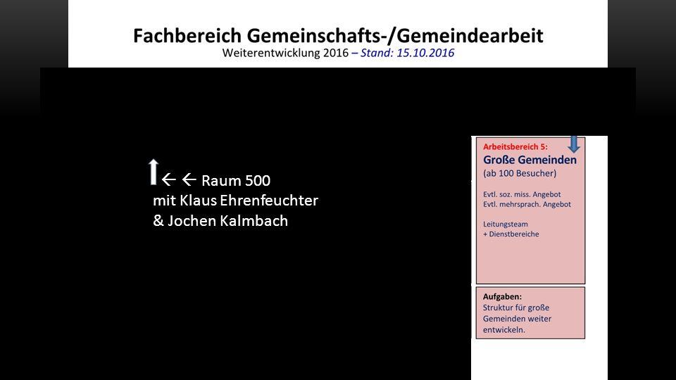   Raum 500 mit Klaus Ehrenfeuchter & Jochen Kalmbach