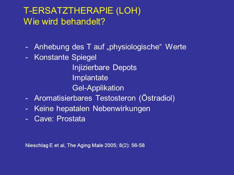 T-ERSATZTHERAPIE (LOH) Wie wird behandelt.